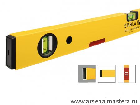 Уровень строительный STABILA тип 70М 100см магнитный арт.02876