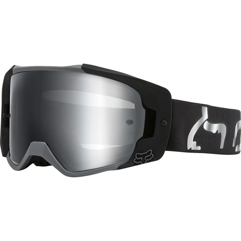 Fox Vue Dusc Black очки черные, зеркальная линза