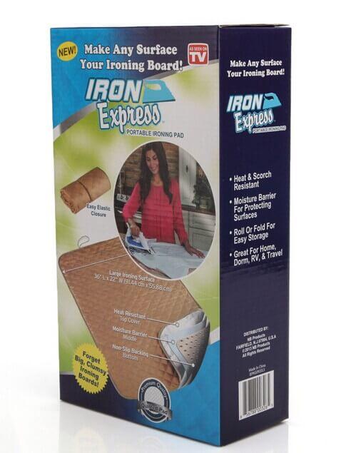 Полотно гладильное IRON EXPRESS