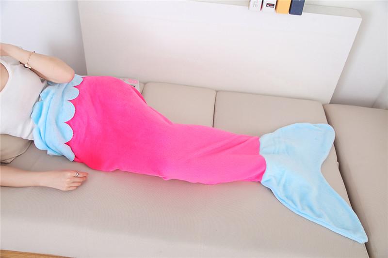 Одеяло - плед Хвост русалки для детей (Child)