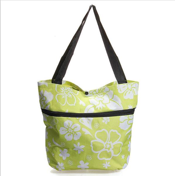 Складная сумка на колесиках