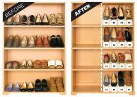 Подставки для хранения обуви Shoe Slots, 6 шт