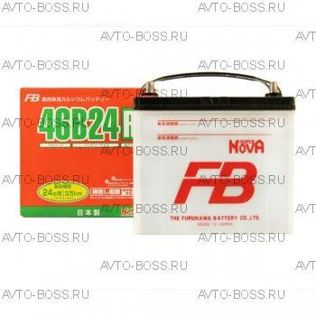 Аккумулятор FB SUPER NOVA 46B24R Ёмкость 45 Ah, пусковой ток 330 А, 236x126x227