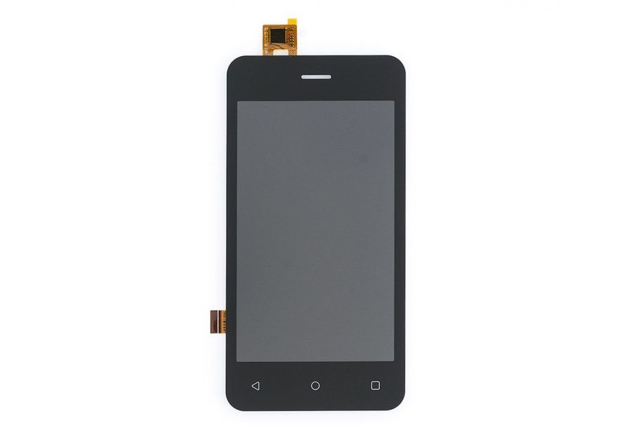 LCD (Дисплей) Fly FS406 Stratus 5 (в сборе с тачскрином) (black)
