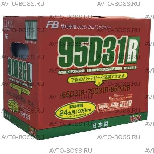 Аккумулятор FB SUPER NOVA 95D31R Ёмкость 80 Ah, пусковой ток 740 А, 304x171x225