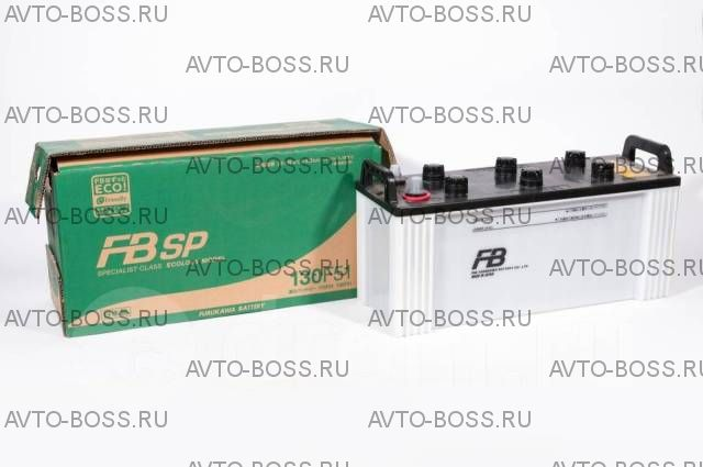 Аккумулятор FB Specialist 130F51 Ёмкость 130 Ah, пусковой ток 820 А (для грузовиков), 502x180x255