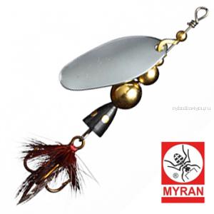 Блесна вертушка Myran Mira 4гр / цвет: Silver 6471-01