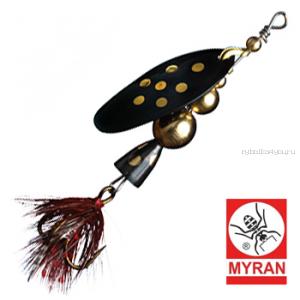 Блесна вертушка Myran Mira 5гр / цвет: Svart 6472-09