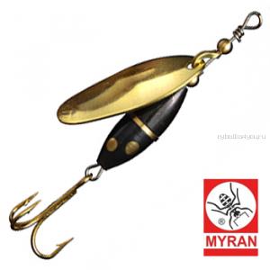 Блесна вертушка Myran Panter 7гр / цвет: Guld 6482-02