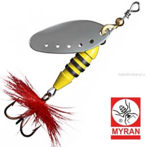 Блесна вертушка Myran Sting 12гр / цвет: Silver 6512-01