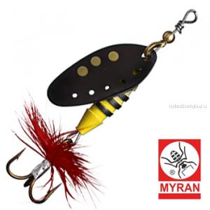 Блесна вертушка Myran Sting 12гр / цвет: Svart 6512-09