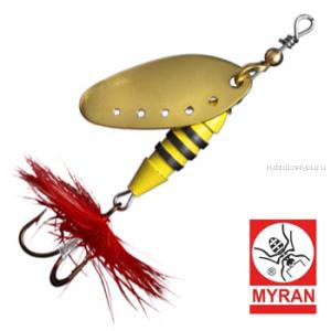 Блесна вертушка Myran Sting 5гр / цвет: Guld 6510-02