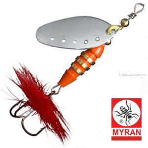 Блесна вертушка Myran Toni 5гр / цвет: Silver 6430-01