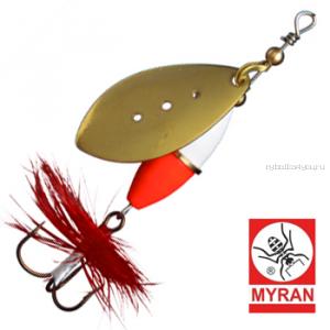 Блесна вертушка Myran Wipp Hot 5гр / цвет: Guld 6541-02