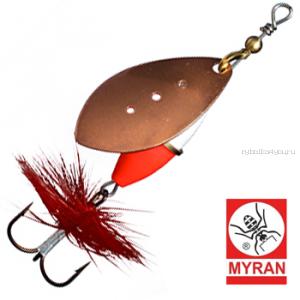 Блесна вертушка Myran Wipp Hot 7гр / цвет: Koppar 6542-03