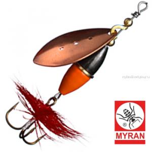 Блесна вертушка Myran Wipp Orange Svart 10гр / цвет: Koppar 6443-03