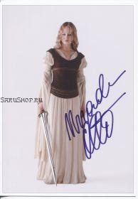 Автограф: Миранда Отто. Властелин колец: Две крепости