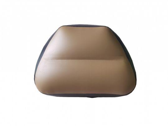 Сиденье надувное в нос лодки 55х47х30 см олива