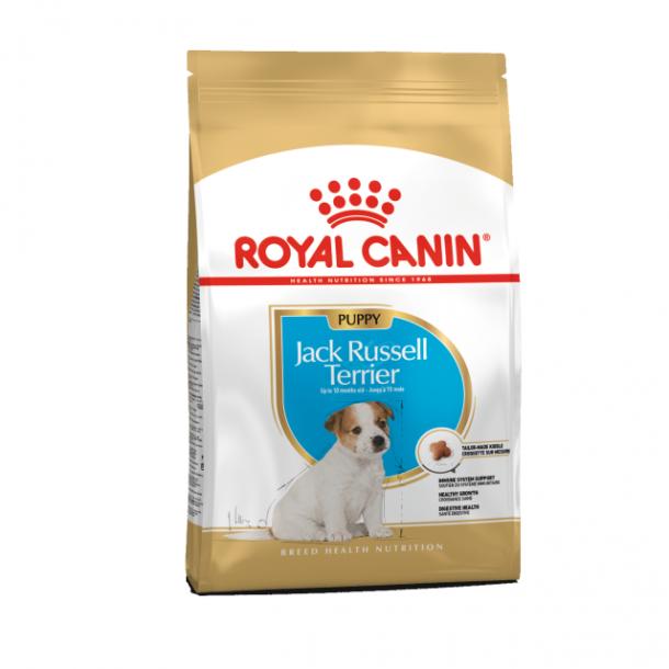 Корм сухой ROYAL CANIN JACK RUSSEL TERRIER JUNIOR для щенков породы Джек Рассел терьер 0.5кг