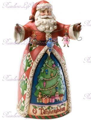 "Фигурка Санта с гирляндой ""Enesco"""
