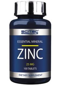 Essentials Zink от Scitec Nutrition 100 таб