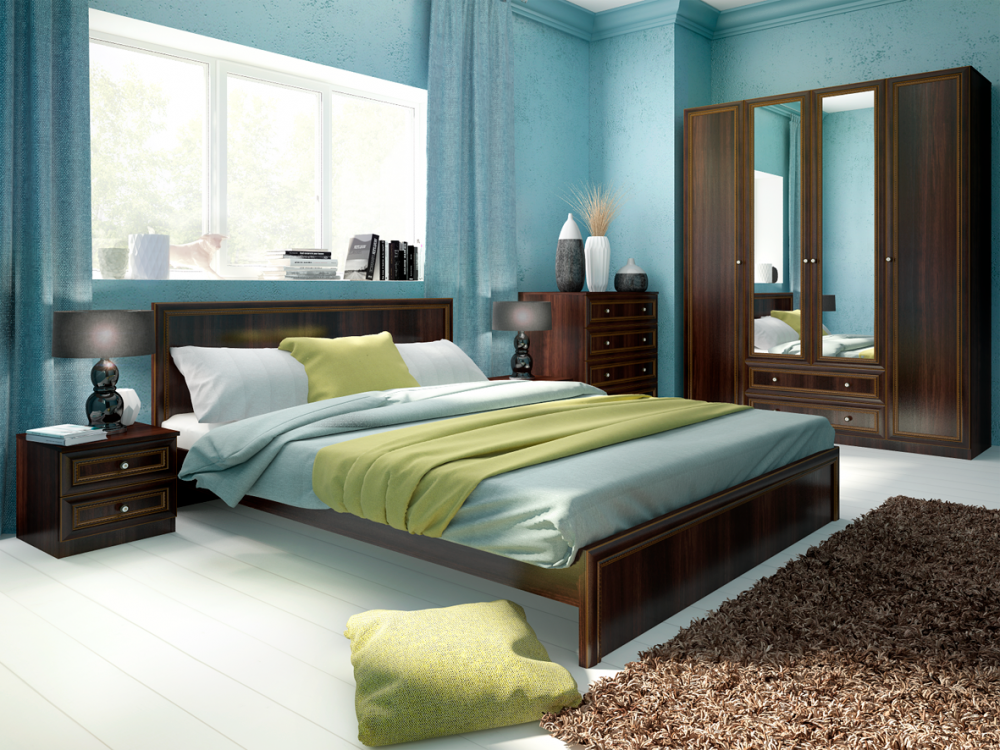 Беатрис спальня модульная