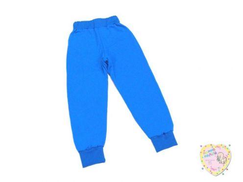 Брюки синие интерлок с широким поясом, сзади карман C-ST810-ITn