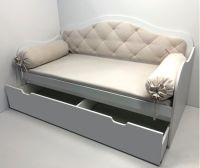 Кровать Ажур с мягкой спинкой