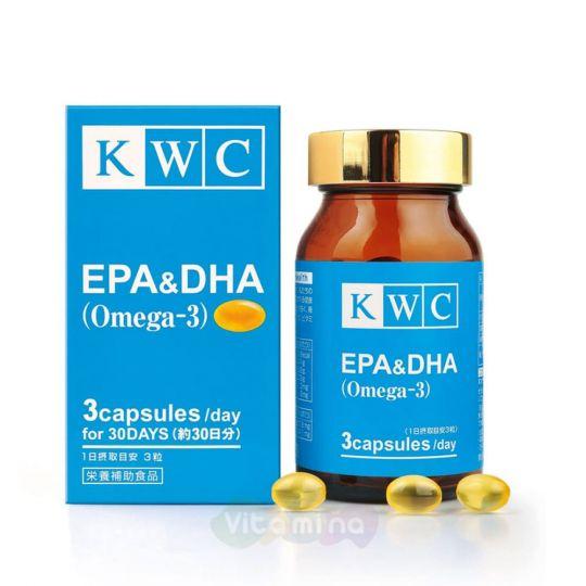 KWC Омега-3 EPA&DHA, 90 капс.