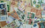 Набор банкнот мира 160шт из оборота