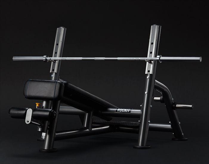 Олимпийская скамья Rockit с обратным наклоном