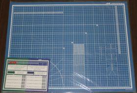 Коврик для резки, самовосстанавливающийся 5-ти слойный, А2, 450 х 600