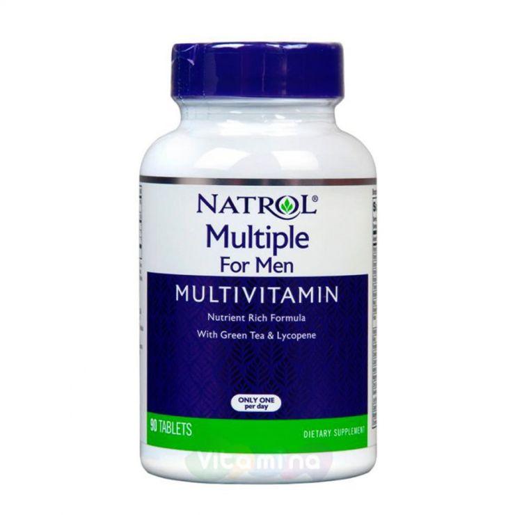 Natrol Комплекс витаминов и минералов для мужчин My Favorite Multiple For Men, 90 табл.