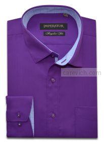 """Рубашки ПОДРОСТКОВЫЕ """"IMPERATOR"""", оптом 12 шт., артикул: Amaranth/Smart 12-П"""