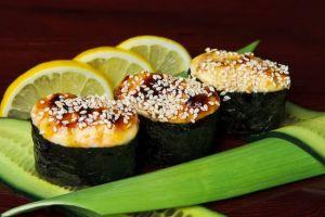 016 e Запеченные суши с окунем