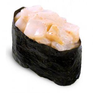 013 Острые суши с гребешком