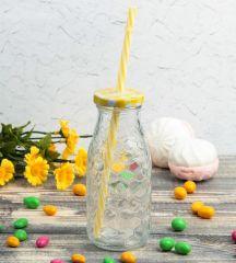 Бутылка «Соты» с крышкой под трубочку, 300 мл
