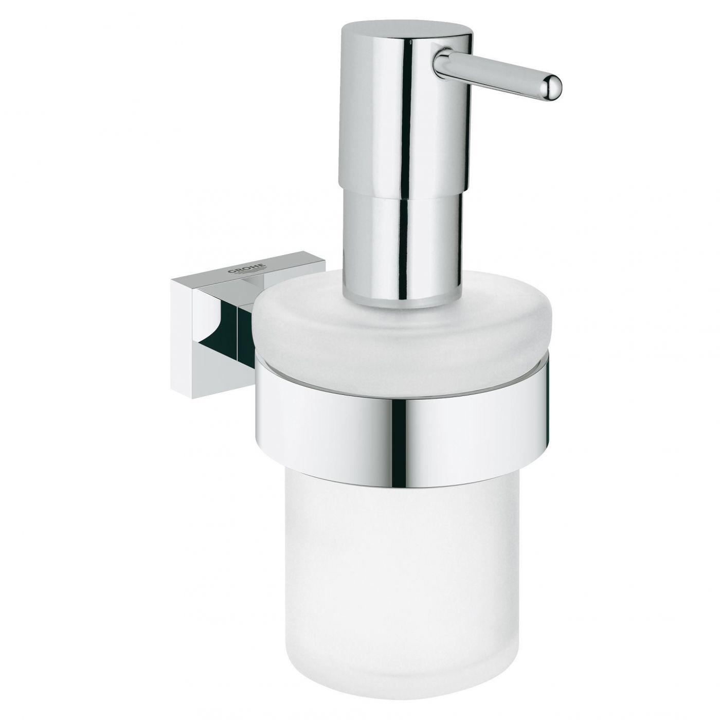 Дозатор для жидкого мыла Grohe Essentials Cube (40756001)