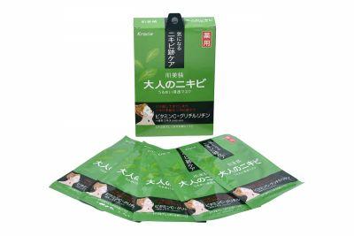Karice Hadabisei Маска для проблемной зрелой кожи с экстрактом зеленого чая 5шт