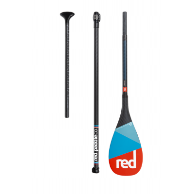Весло для SUP RED PADDLE CARBON 50% CARBON (3 piece) AntiTwist 2019/20