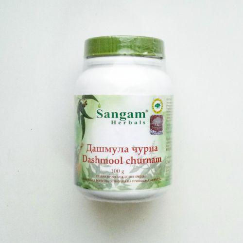 Дашмула (Дашамул, дасамул) чурна | Dashmool Churnam | 100 гр | Sangam Herbals