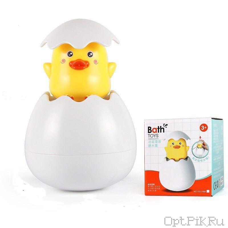 """Игрушка для купания """"Цыплёнок в яйце"""""""