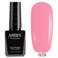Arbix 020 Розовый Фламинго Гель-Лак , 10 мл