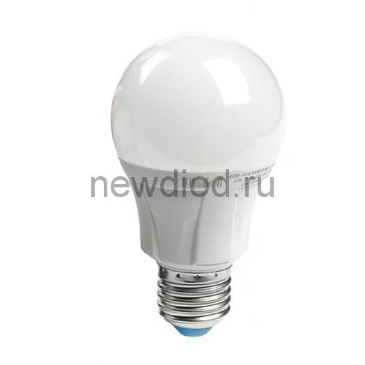 Лампа светодиодная LED-A60 13W-4000K-E27-FR Яркая 4000К матовая Uniel