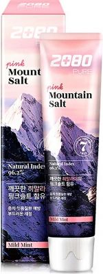 Aekyung Dental Clinic 2080 Pure Mountain Salt Pink Mild Mint Зубная паста розовая Гималайская соль 120 гр