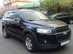 Прокат авто Chevrolet Captiva 2014 г. в Москве без водителя.