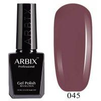 Arbix 045 Французский Каштан Гель-Лак , 10 мл