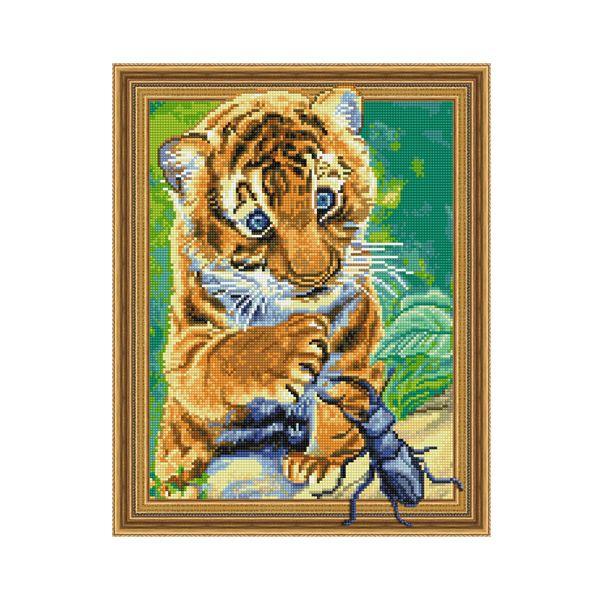 Набор 3D мозаика Знакомство с природой с рамкой 40*50 см