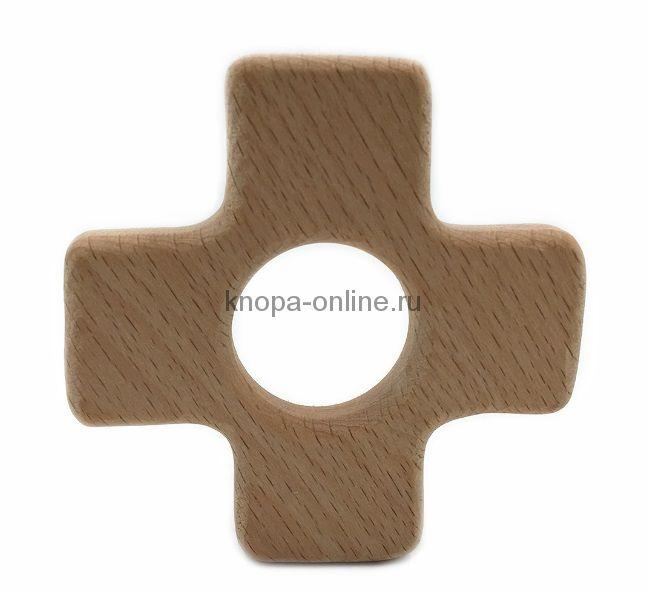 Деревянный грызунок - Крестик
