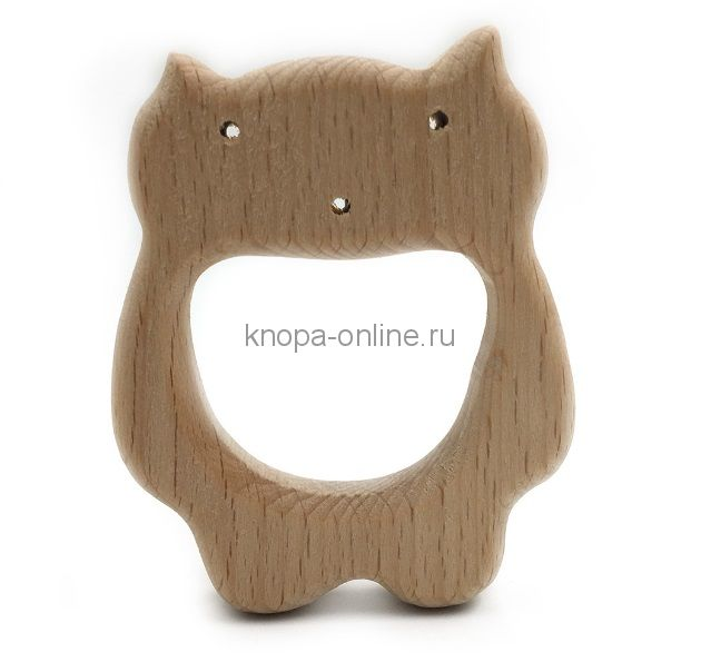 Деревянный грызунок - Кот